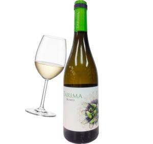 vino blanco tarima